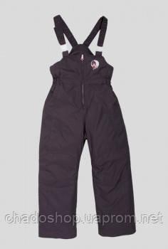 Водонепроницаемые зимние дутые штаны на девочку Evolution