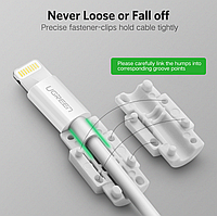 Ремонт кабеля своими руками Ugreen защитные скобы для iPhone