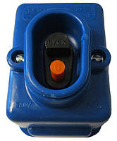Кнопка пусковая 220В синяя 6.3А