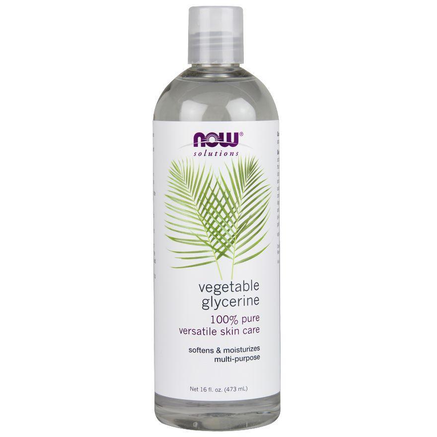 NOW Foods Растительный глицерин 100% pure, 473ml