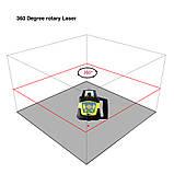 Лазерный нивелир ротационный Fukuda FRE 207A, фото 2