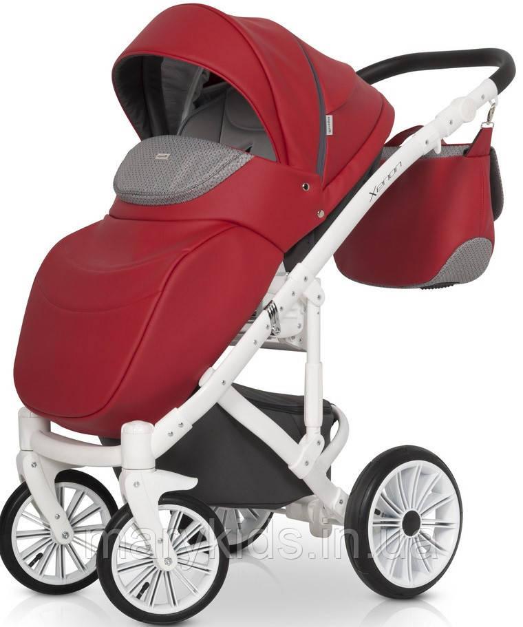 Детская универсальная коляска 2 в 1 Expander Xenon 03 Scarlet - фото 2