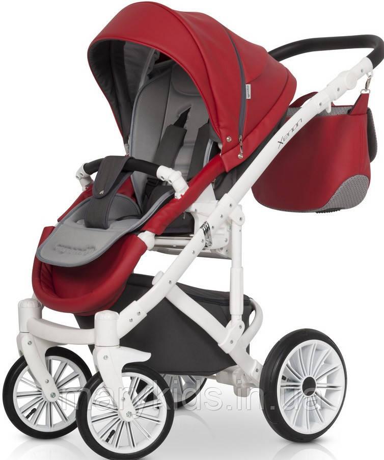 Детская универсальная коляска 2 в 1 Expander Xenon 03 Scarlet - фото 3