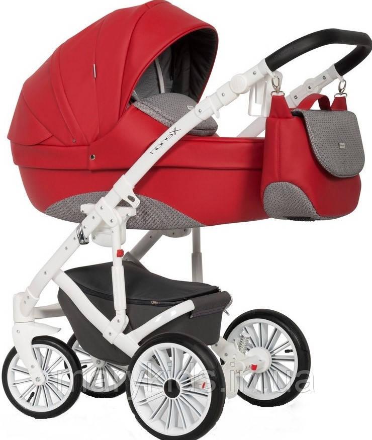 Детская универсальная коляска 2 в 1 Expander Xenon 03 Scarlet - фото 5