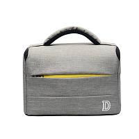 Фото сумка Nikon D противоударная, цвет серый с жёлтым ( код: IBF031SY )
