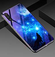 TPU+Glass чехол Fantasy для Xiaomi Mi 9 Lite / Mi CC9 (2 Вида)