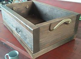 Ящик деревянный для подарков, суперкачество