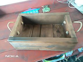 Ящик деревянный для подарков, суперкачество, фото 3