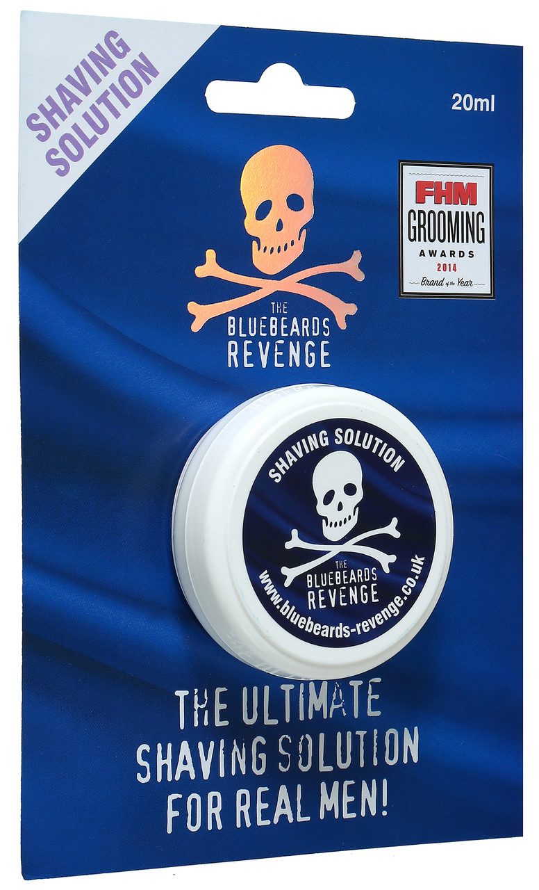Гель для бритья The Bluebeards Revenge Brushless Shaving Solution 20 мл.