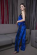 Велюровая пижама с кружевомштаны и майка, фото 2