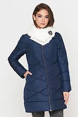 Женская куртка зимняя Braggart Tiger Force качественного пошива  синяя размер 44 46 48 50, фото 3