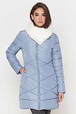 Женская куртка зимняя Braggart Tiger Force качественного пошива  пудра размер 44 46 48, фото 3