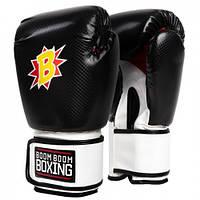 Оригинальные Боксерские Перчатки BOOM BOOM Striker Gloves By TITLE - Black/White