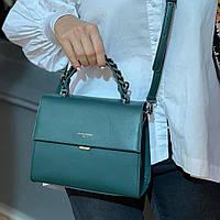 Клатч женский зелёный David Jones, фото 1