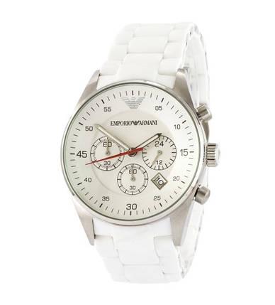 Мужские часы Emporio Armani AR-1400 Black-Silver, элитные часы Эмпорио Армани черный-серебристый реплика ААА, фото 2