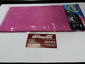Микрофибра (полотенце) розовая 40х30 см
