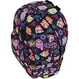 Рюкзак стильный Bagland городской молодежный на 17 л. сублимация совы, фото 3
