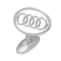 Прицел эмблема на капот Audi хром