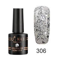 Гель-лак Ou Nail №306, 8 ml