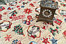 Скатерть гобеленовая Новогодняя с люрексом Испания Villa Grazia Щедрый вечер 140x280 см, фото 3