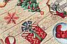 Скатерть гобеленовая Новогодняя с люрексом Испания Villa Grazia Щедрый вечер 140x280 см, фото 4