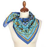 10785-14, павлопосадский платок хлопковый (батистовый) с подрубкой, фото 2