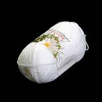 Пряжа Ареола Акрил №12 белый