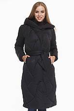 Женская куртка зимняя Braggart Tiger Force с прорезными карманами синяя размер 44 46 48 50, фото 2