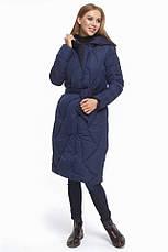Женская куртка зимняя Braggart Tiger Force с прорезными карманами синяя размер 44 46 48 50, фото 3