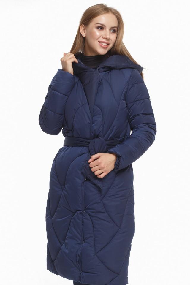 Женская куртка зимняя Braggart Tiger Force с прорезными карманами синяя размер 44 46 48 50