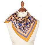 10785-16, павлопосадский платок хлопковый (батистовый) с подрубкой, фото 2