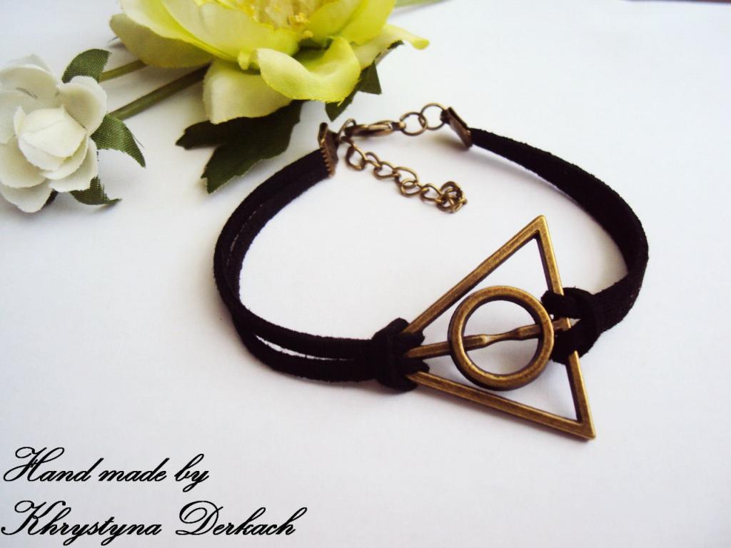 Браслет Треугольник Дары Смерти из Гарри Поттера! Будь в теме! Успейте приобрести!