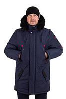 Мужские зимние куртки-парки на меху   44-54 цвет 01