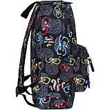 Рюкзак стильный Bagland городской молодежный на 17 л. сублимация совы, фото 2