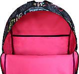 Рюкзак стильный Bagland городской молодежный на 17 л. сублимация совы, фото 4