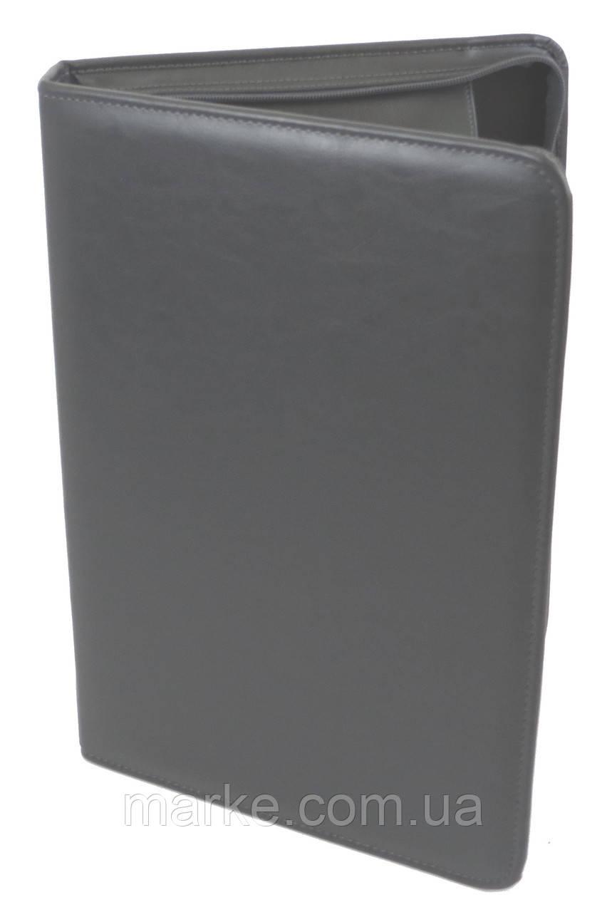 Деловая папка из искусственной кожи AMO SSBW03 серый