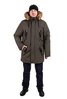 Недорогие зимние куртки мужские  44-54 цвет 03