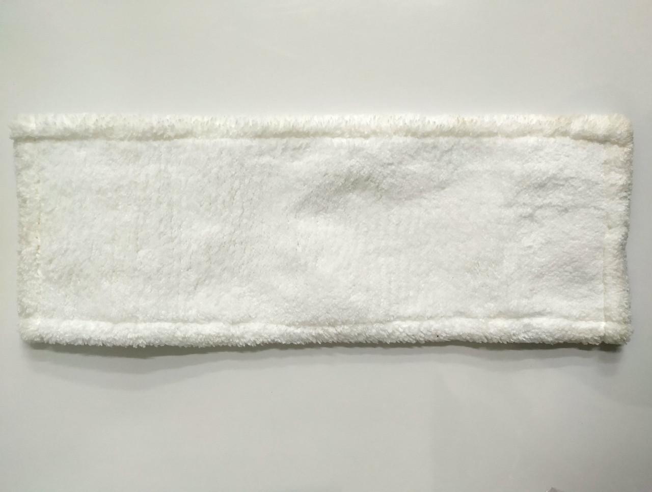 Моп для швабры 40 см с карманами и ушами, микрофибра УНИВЕРСАЛЬНЫЙ GARNO/Гарно