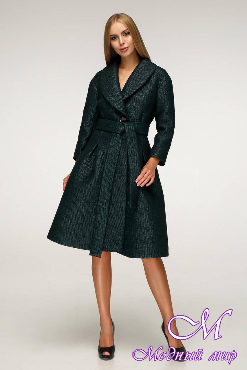 Модне демісезонне пальто жіноче (р. 44-50) арт. 12-00/105