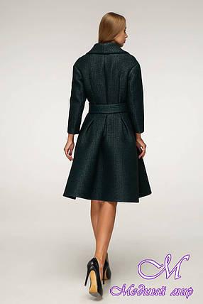 Модне демісезонне пальто жіноче (р. 44-50) арт. 12-00/105, фото 2