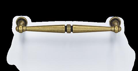Ручка мебельная D-1015-128 SMAB блестящая матовая античная бронза