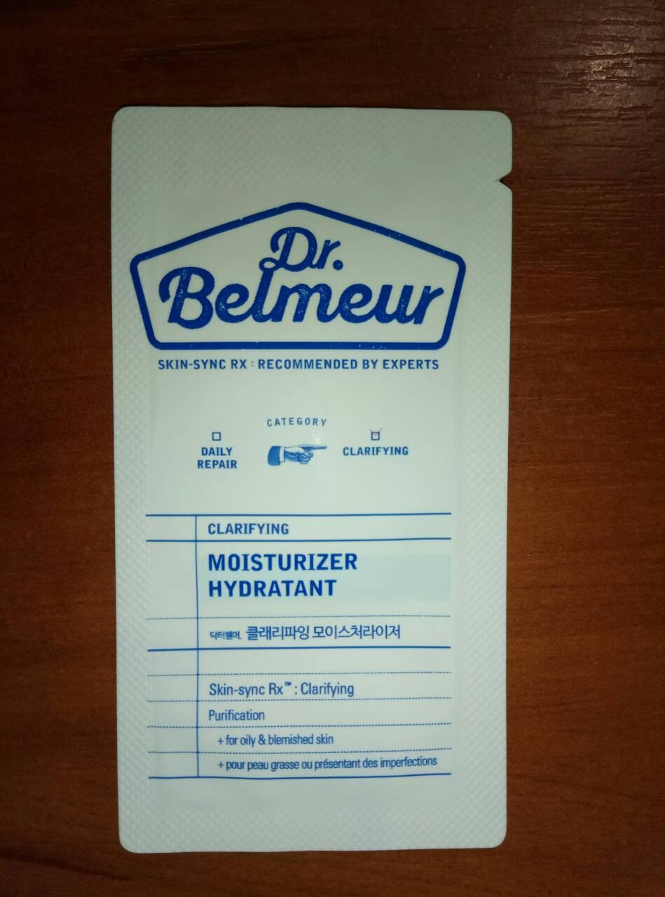 The Face Shop Dr Belmeur Daily Repair Moisturizer Hydratant для воспаленной кожи, пробник