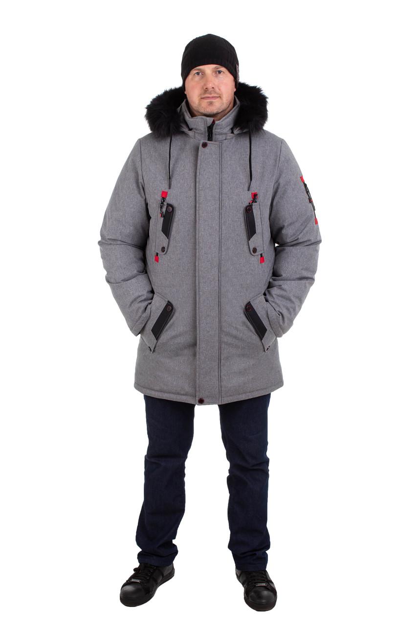 Мужские куртки зимние  от производителя 44-54 цвет 05