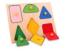 Рамкавкладыши Геометрические фигуры Lam Toys