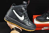 Ботинки Nike Lunar Force 1 арт 20660 (зимние, найк, синие), фото 1