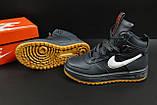 Ботинки Nike Lunar Force 1 арт 20660 (зимние, найк, синие), фото 3