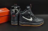 Ботинки Nike Lunar Force 1 арт 20660 (зимние, найк, синие), фото 4