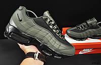 Кроссовки Nike Air Max 95 арт 20642 (мужские, хаки, найк), фото 1