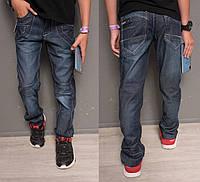 0116 Longli джинсы на мальчика модные синие осенние котоновые (30-35, 6 ед.), фото 1