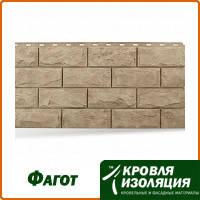 """Фасадная панель """"Фагот"""", цвет: Каширский; 1,16х0,45м"""
